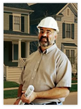 James Hardie construction worker